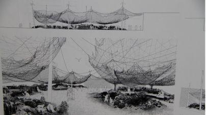 El proyecto 'Tephra' ganador del concurso de la Plaza de El Almacén