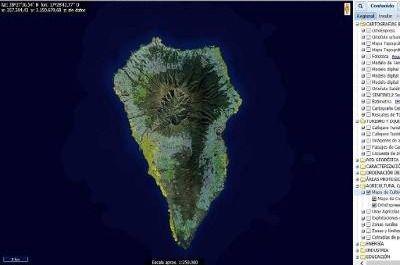 Grafcan actualiza en su plataforma web el Mapa de Cultivos de La Palma