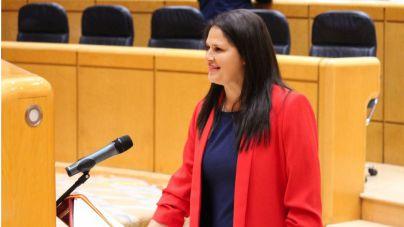 Esther Hernández jura su cargo como nueva senadora del PP por Fuerteventura