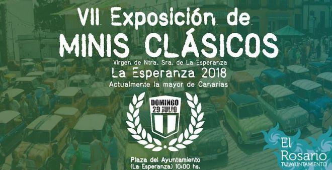 La Esperanza acoge la mayor quedada de minis en Canarias