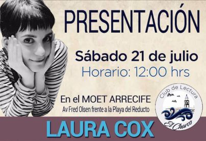 El Club de Lectura El Charco presenta el fantástico universo de Laura Cox