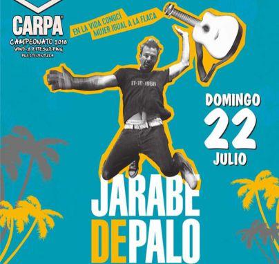 Jarabe de Palo celebra sus 20 años de trayectoria en La Carpa del Campeonato