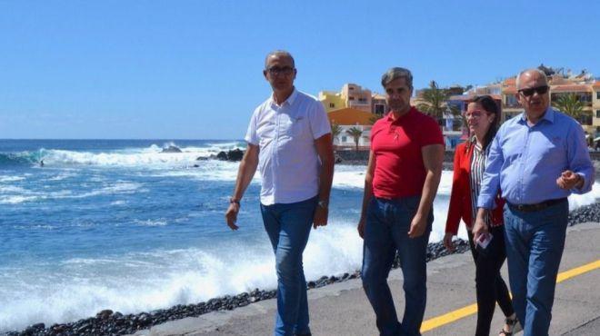 ASG presenta una PNL para reivindicar un impulso decidido a la Avenida Marítima de Valle Gran Rey