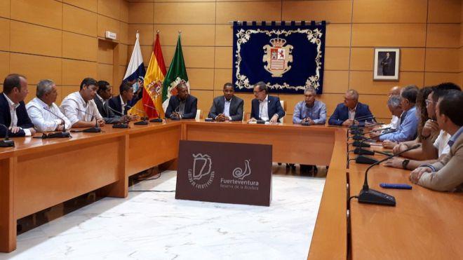 Fuerteventura suscribe un acuerdo con Boa Vista (Cabo Verde) para impulsar la cooperación y el desarrollo socioeconómico