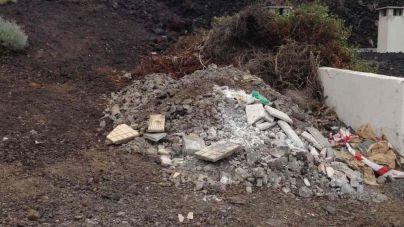 El PSOE denuncia el vertido de escombros por el propio Ayuntamiento de Valverde en El Tamaduste