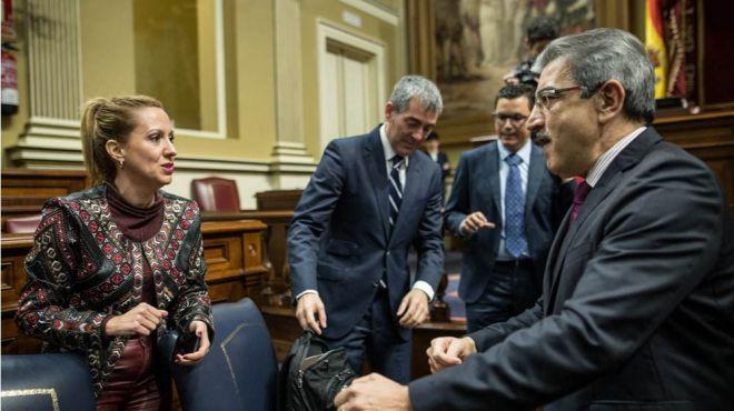 """NC censura a Clavijo por abrazar el """"peligroso"""" dicurso conservador de Ciudadanos y el PP"""