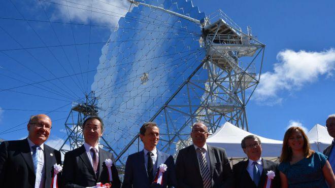 Inaugurado el prototipo LST 1 (Large Size Telescope) de la Red Cherenkov