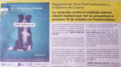 CC financia un zoológico de Fuerteventura con dinero público