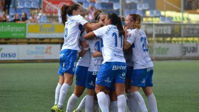 Gran victoria de la UDG Tenerife Egatesa ante el Logroño