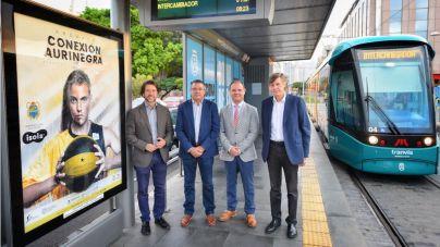 El Cabildo a través del tranvía de Tenerife apoya al CB Canarias