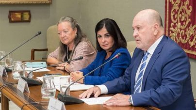 Parlamento y Gobierno de Canarias rinden homenaje a Elsa López en el Día de las Escritoras