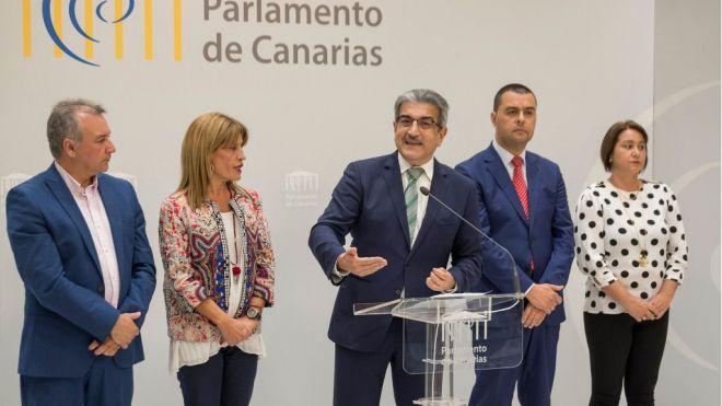 NC urge a Clavijo a buscar espacios de encuentro con Pedro Sánchez