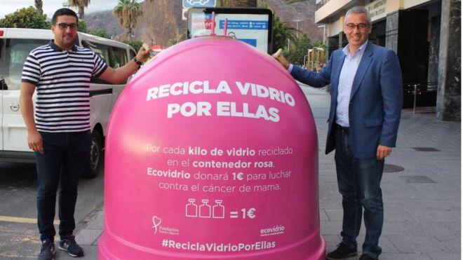 'Recicla vidrio por ellas' con motivo del Día Mundial del Cáncer de Mama