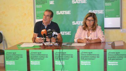 SATSE inicia una campaña con el objetivo de que se aumenten las plantillas de enfermeras en Canarias