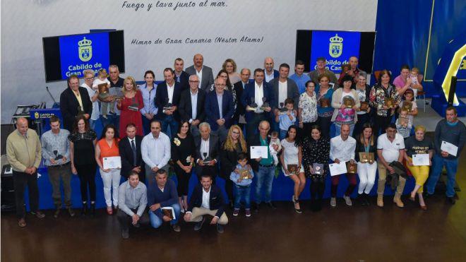 Entrega de premios a los vinos y quesos de Gran Canaria