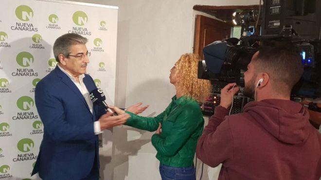 Rodríguez convencido de que el nuevo sistema electoral canario se aplicará en las elecciones de 2019