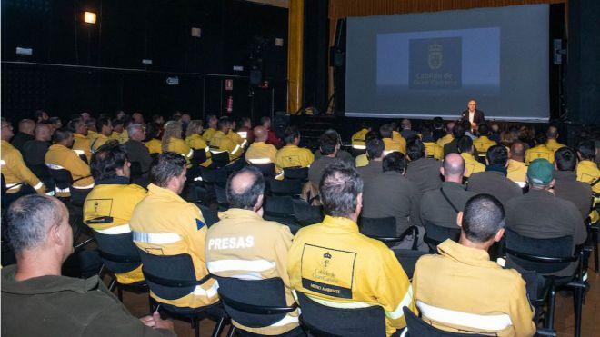 Gran Canaria cierra la campaña de incendios 2018 con los mejores resultados de los últimos veinte años
