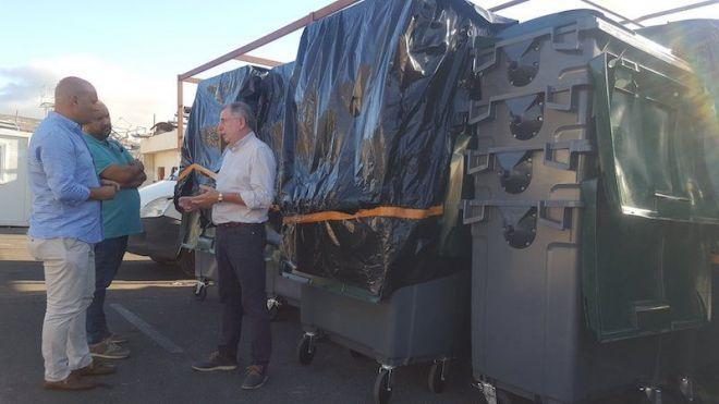 Candelaria instalará cámaras y 200 nuevos contenedores