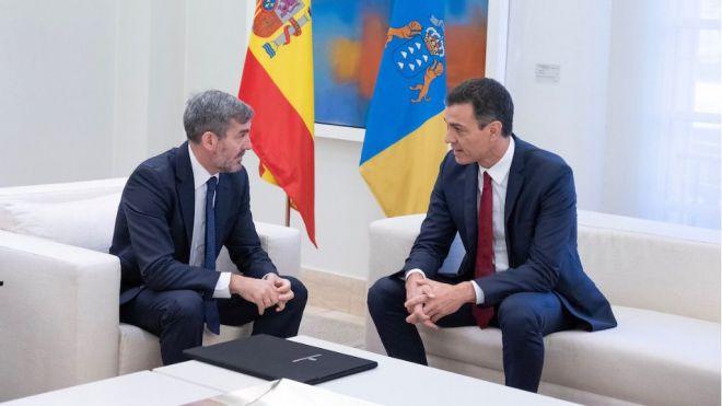 Clavijo acuerda con Sánchez firmar el Convenio de Carreteras antes del 30 de noviembre