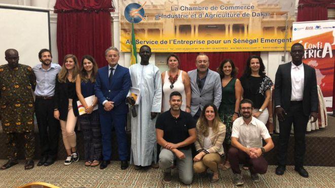 Confiáfrica, dos días de trabajo en Senegal
