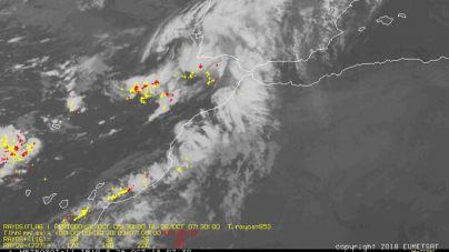Finaliza la situación de alerta por lluvias en Lanzarote y Fuerteventura