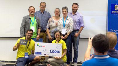 Un revestimiento de plástico difícil de reciclar gana el máximo galardón del primer #Climathon que acoge Gran Canaria