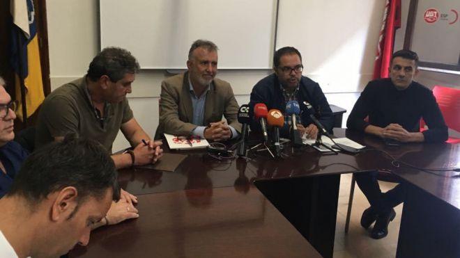 El PSOE traslada a los sindicatos que exigirá al gobierno de CC que cumpla con las 35 horas sin excusas
