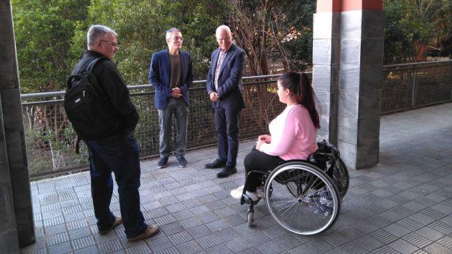 El Diputado del Común inicia de oficio un expediente sobre la accesibilidad del IES Tegueste
