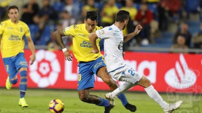 El tiempo añadido condena a Las Palmas (1-1)