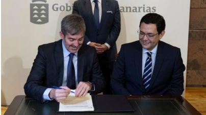 Gobierno y Fundación Amancio Ortega firman el convenio de donación de 22 equipos para el tratamiento del cáncer