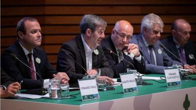Clavijo renueva el compromiso del Gobierno con los enfermos de cáncer y sus familias