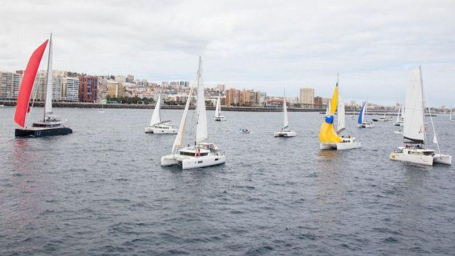 La ARC Plus zarpa rumbo a Cabo Verde y abre el gran mes de la náutica en Las Palmas de Gran Canaria