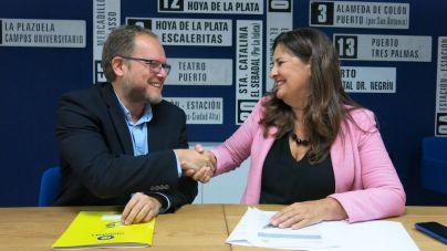 Guaguas Municipales facilitará la movilidad de los estudiantes herreños afincados en LPGC