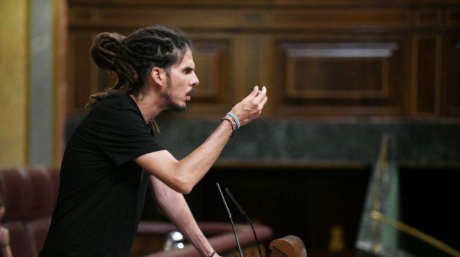 Alberto Rodríguez lleva al Congreso la política del gas de Clavijo