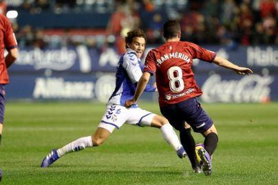 El CD Tenerife no suma en Pamplona