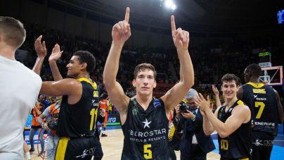 El Iberostar Tenerife derrota al Valencia Basket con triples