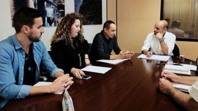 Ayuntamiento y UGT abordan el presente y futuro del sector comercial en la capital