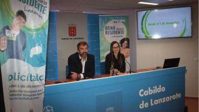Lanzarote pone el Bono Residente Canario con un precio único de 20 euros al mes