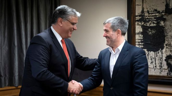 Canarias y Azores se coordinan para alcanzar objetivos empresariales comunes
