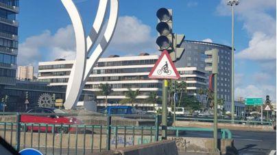 Cs denuncia el caos circulatorio en Las Palmas de Gran Canaria