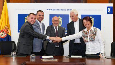 Firmado el acuerdo de cesión del Colegio de los Salesianos de Guía al Cabildo