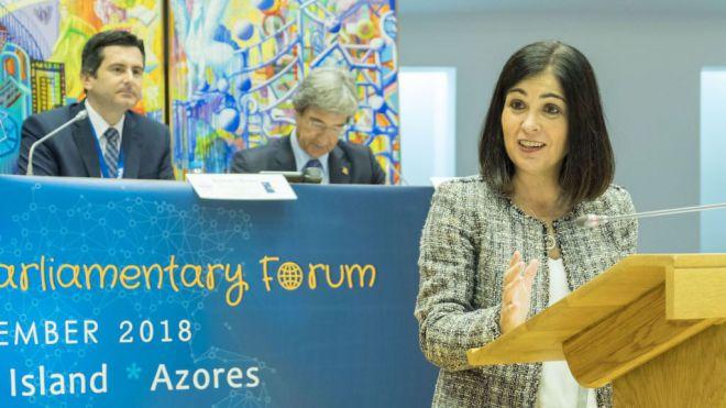 """Carolina Darias: """"Las islas representamos una oportunidad para una Europa sostenible"""""""