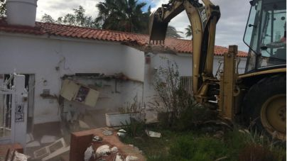 Desalojada la última casa de maestros ocupada en el IES El Tablero I-Aguañac