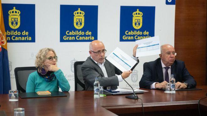 El Cabildo mantiene que los presupuestos discriminan a la ciudadanía grancanaria