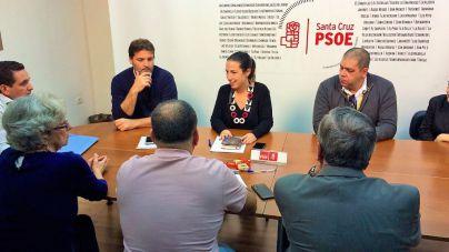 El Psoe de Santa Cruz se compromete a catalogar los edificios que propone proteger el Cabildo