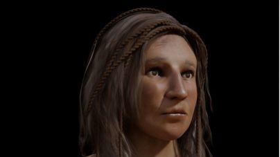 El proyecto Humiaga 977 pone rostro a una aborigen que falleció a finales del siglo VI-VII en Gran Canaria