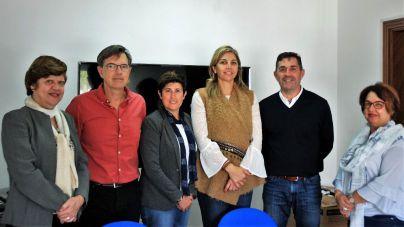 Acuerdo de las instituciones con la Asociación Haineto para la recuperación del Semáforo de Igueste