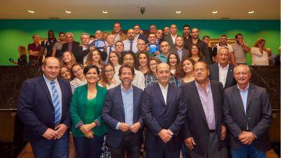 La Federación de Lucha Canaria de Tenerife distingue a deportistas y entidades con los Premios Cabildo 17-18