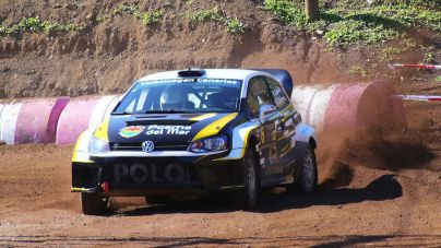 Inesperado premio para Capdevila-Quintero (VW Polo N1-Loro Parque) el Memorial J. Santana
