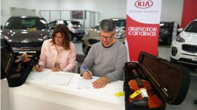 Arimotor Canarias renueva su compromiso social con Barrios Orquestados